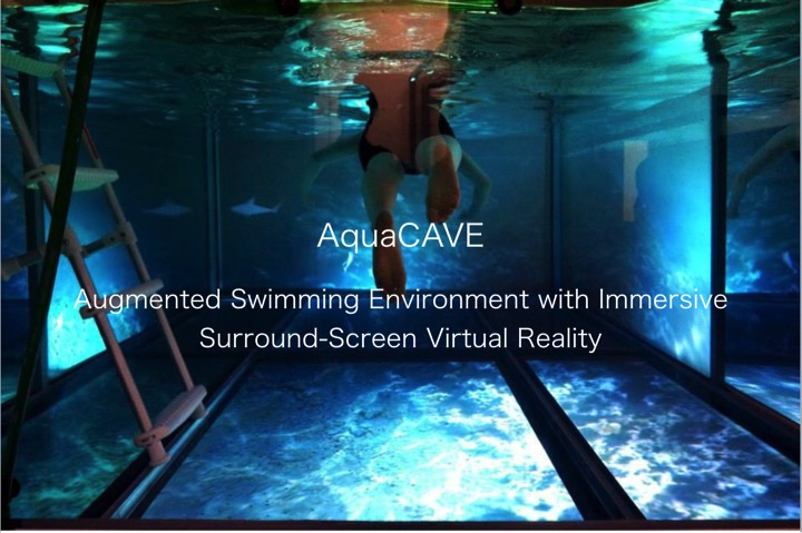 Aquacave Augmented Swimming Environment With Immersive